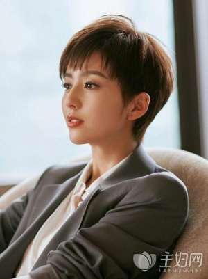 资讯生活佟丽娅最新短发帅气上线 丫丫短发or长发发型都惊艳